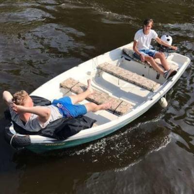 Comfort boat (max 6p)