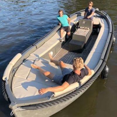 VIP Boat (max 12p, incl schipper)
